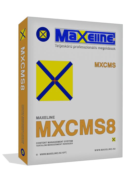 MaXeline Content Management System Version 8 - MXCMS8 tartalomkezelő rendszer